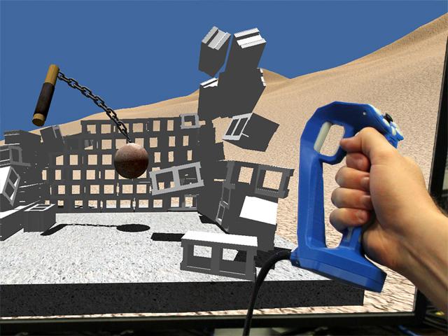 Reactive Grip Controller & Flail Demo